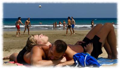 Sex beach gran canaria Maspalomas